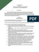 CMCSC Constitution