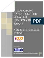 Seaweeds Value Chain Analysis