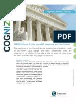 White Paper - LIBOR Manipulations and Regulations (1)