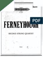 Ferneyhough - String Cuartet 2