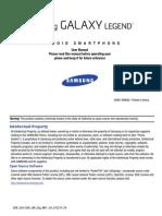 VZW SCH-I200 Galaxy Legend JB English User Manual MH1 F6