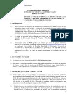Edital Educacao