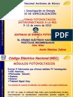 Recomendaciones NEC