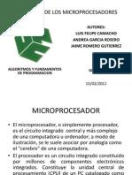 Evoluciondelos Microprocesadores