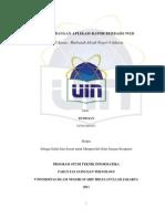 Pengembangan Aplikasi Rapor Berbasis Web