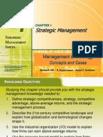 Strategic Management introduction