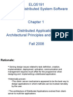 ELG5191 Design of Distributed System Software Chapter