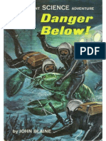 Rick Brant #23 Danger Below!