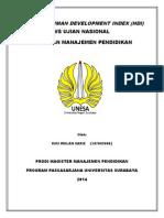 Analisis Human Development Index