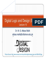 Digital Logic and Design 10