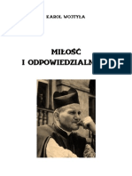 Karol Wojtyla - Milosc i Odpowiedzialnosc