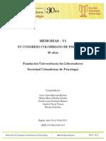 memorias+xv+congreso+psicologia