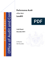 2014 Landfill Audit