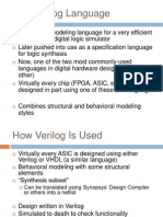 The Verilog Language