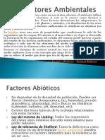 Clase 6Factores Ambientales