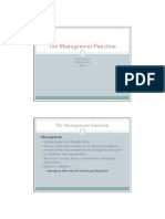 The Management Function2