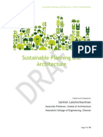Sustainable Planning and Architecture