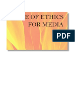 Buk1 Code of Ethics for Media