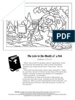 Coloring Page-Miracles in the Bible