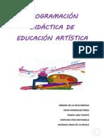 programación didáctica artística