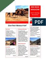 issue 1 - geology newsletter - spring 2014