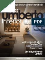 Umberto 2013 Interior Design Decoration E-book