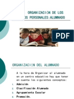 Organización Del Alumnado