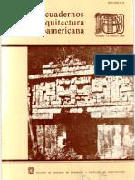 Cuadernos de Arquitectura Mesoamericana 01. 1984