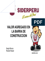 ACEROS SIDERPERU