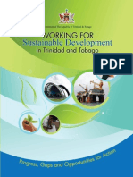 Working for Sustainable Development in Trinidad and Tobago
