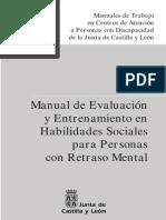 Manual de Evaluacion y Entrenamiento en Habilidades Sociales]