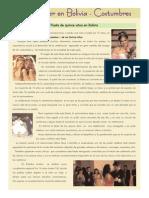 VESTIMENTA de Mujer en El Mundo y Bolivia