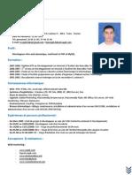 Curriculum Vitae BEN REJEB Fékri