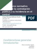 Presentación Estatuto de contratación y nueva reglamentacion Jorge Beltran Pardo PGN.pdf