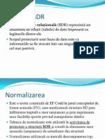 Baze de date normalizarea