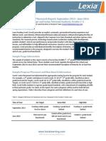Lexia National Data Analysis 2013 2014
