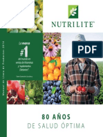 Catalogo Nutrilite