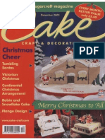 Cake and Decoration Christmas