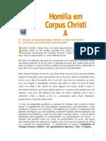 Homilia Em Corpus Christi a