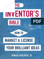 The Inventors Bible, 3rd Edition, by Ronald Louis Docie, Sr. -  Excerpt