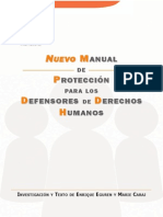 Nuevo Manual Proteccion Defensores DDHH (Eguren & Caraj;Protection Intenacional_2009)