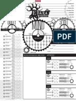 Edara a Steampunk Renaissance Character Sheet (6620904)