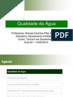 Aula 2 14-05-2014 - Qualidade Das Aguas e Caracterizacao de Aguas Residuarias