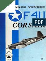 Aero Series 11 Chance Vought F4U Corsair