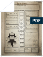 Dark Heresy Character Sheet