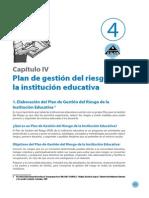 Plan de Gestión de Riesgos de la I.E.