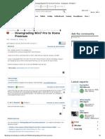 Downgrading Win7 Pro to Home Premium - Downgrade - Windows 7