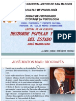 DESBORDE POPULAR-JOSÉ MATOS MAR