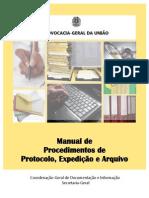 Manual de Procedimentos de Protocolo Expedicao e Arquivo