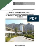 Plan Contingencial DENGUE HNHU 2012_13 Final